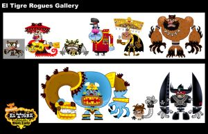 Rogues Gallery by mexopolis