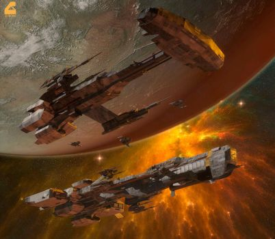 Space Opera by RobCaswell