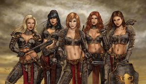 Sisters of Divine Retribution by MitchFoust