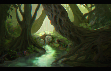 Enchanted Forest (YES! ANOTHER ONE) by peppoW