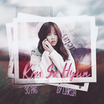 Kim So Hyun 30 PNG PACK #5 by liaksia by liaksia