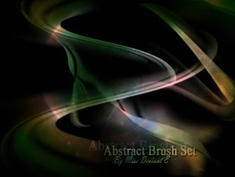 Abstract brushes by Miss-deviantE