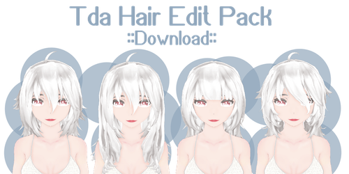 Tda hair edit pack ::download:: by Ariestellar