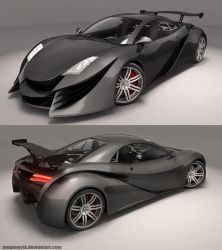 XR-Z Concept Car 1 by MeganeRid