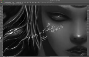 WIP Birth of Strength by stellartcorsica