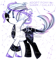 Space Shark [Adopt CLOSED] by OatmealSama