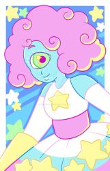 Cotton Candy Cyclops by TheCrayonQueen