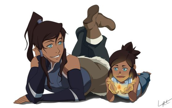 You've grown up Korra by CarishinLove