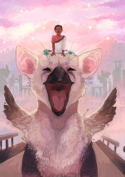 THE LAST GUARDIAN by sickingstar