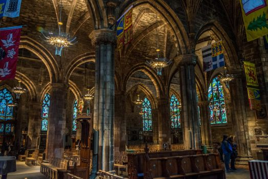 St Giles Cathedral by Princess-Amy