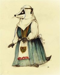 Redwall: Constance the Badger by FairytalesArtist