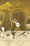 White Rabbit - Mad Tea Party by Tatter-Hood