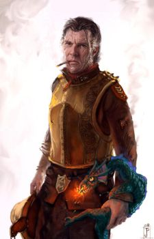 Sam Vimes by Merlkir