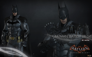 Batman Arkham Knight - Batman (Batsuit v8.04) by XNASyndicate