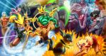 Neo Monsters Battle by rbl3d