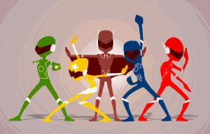 Justice Sentai of America by Andry-Shango
