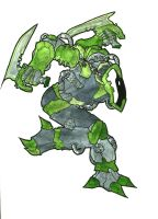Green Dancing Blade by Scarnor