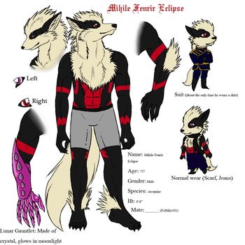 COMM: Mihile Ref by MagicallyCapricious