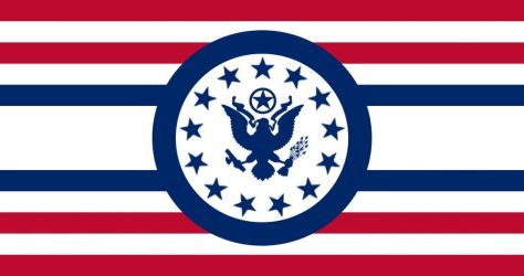 American Fascist Party -Fic Flag- by ColumbianSFR