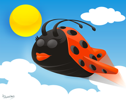 Lady AirBug by antonist