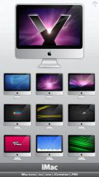 iMac icons by MDGraphs