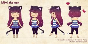 Mimi the Cat by Morigalaxy