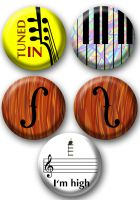 Musicality buttons by e-tahn