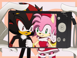 Shadamy: Say Cheese!! by YzzyTheHedgie123