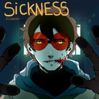 Sickness: Goretober Day 5 by Alloween
