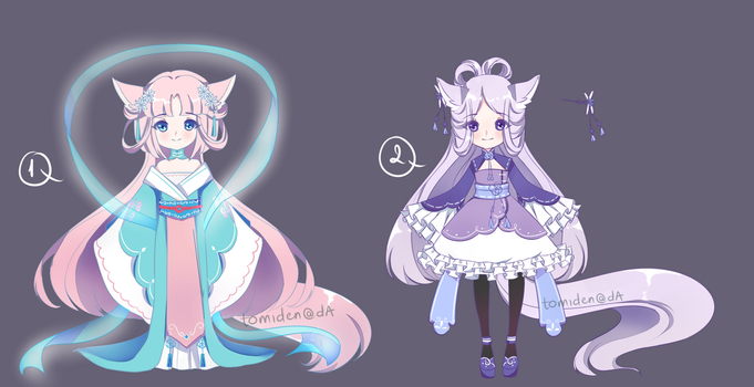 [ADOPT 108-109][AUCTION][CLOSED] MOON FESTIVAL ~ by tomiden