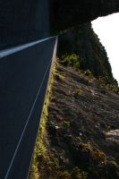 mountain road by schlachthof