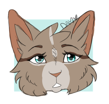 Dewmask Headshot by nightrelic