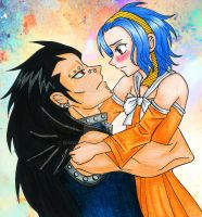 Gazille and Levy by manu-chann
