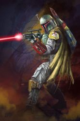 13 NoH Day 09 Boba Fett by Grimbro
