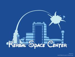 Kerbal Space Center, Happiest Launch Pad on Kerbin by jeffmcdowalldesign