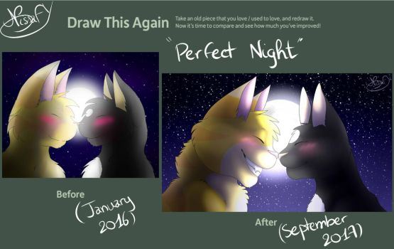 Draw this again - Perfect Night by NissaFY