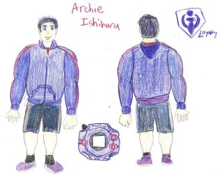 Archie Ishihara Front and Back by poseidon777