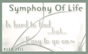 Symphony Of Life by Dead-Evil