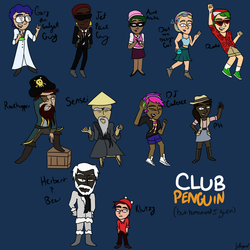 Humanized Club Penguin I guess idk by izthewizard