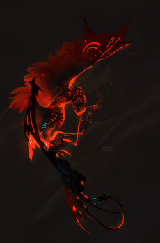 The feral flower of rage. by Assovi