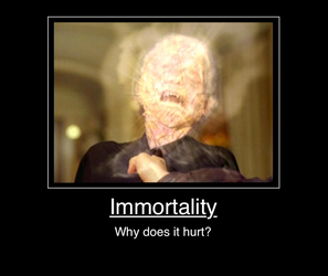 Immortality, why does it hurt? by Sashova