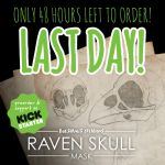 Raven Skull Mask Kickstarter - 48hr left! by Bueshang