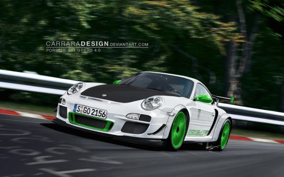 Porsche 911 GT3 RS 4.0 by CarraraDesign