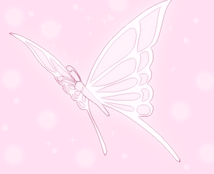 Cure Sweet's Butterfly by SailorTrekkie92