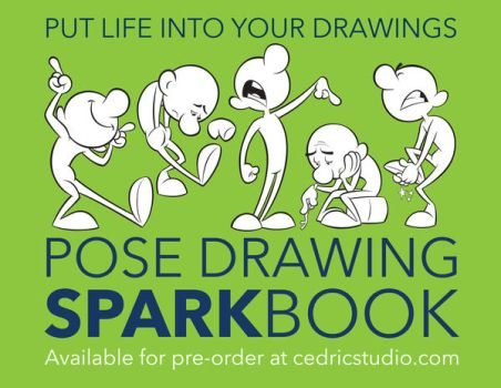 Pose Drawing Sparkbook Available For Pre-Order by cedricstudio