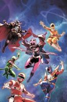 New Power Rangers Team by Billy1999