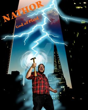 Nathor - God of Plaid by hularay