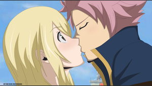 Natsu and Lucy Kiss - Final Chapter(? by LucyHeartfiliaR