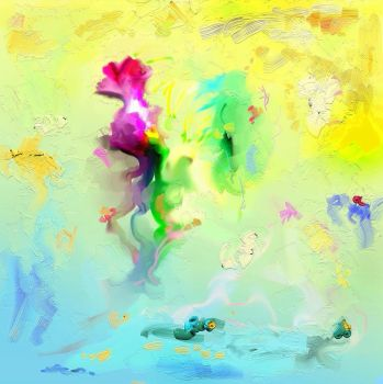 spring buds of paints by creapicform