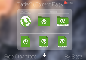 Flader 2 : uTorrent Pack (icon, folders, files) by scafer31000